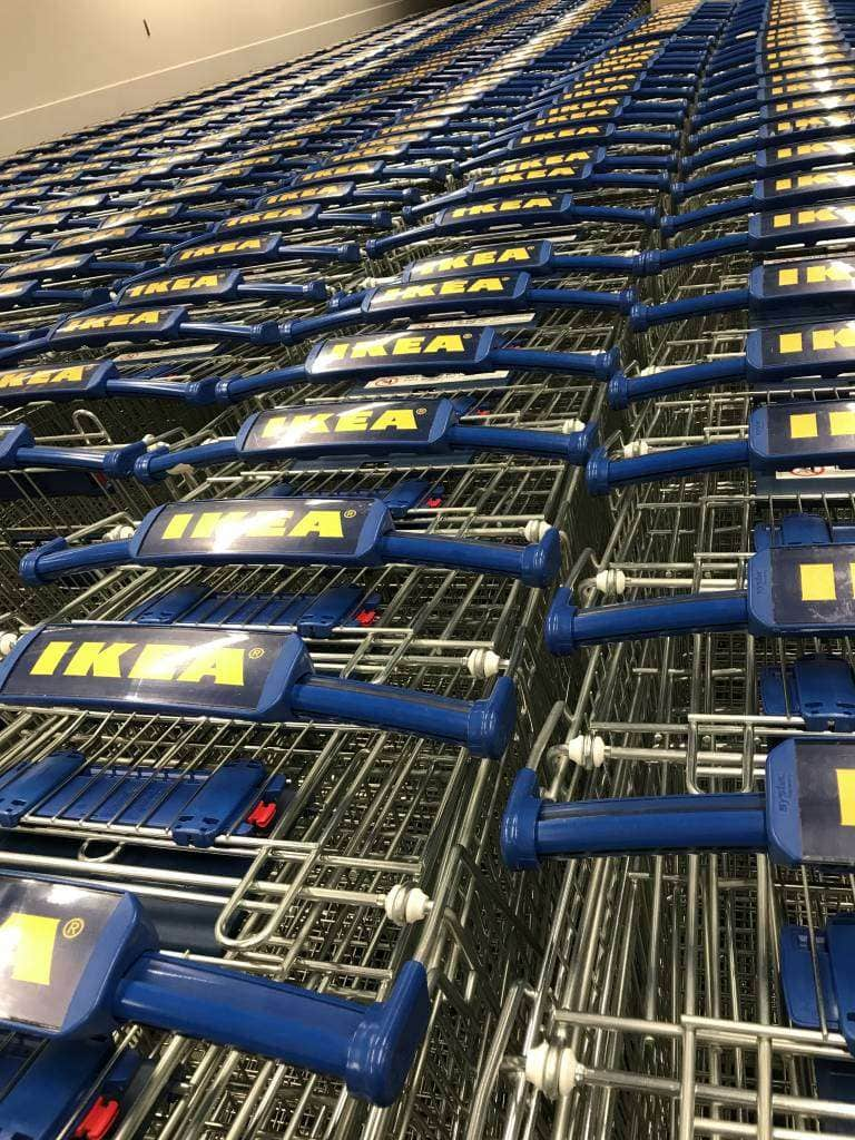 ikea largest store